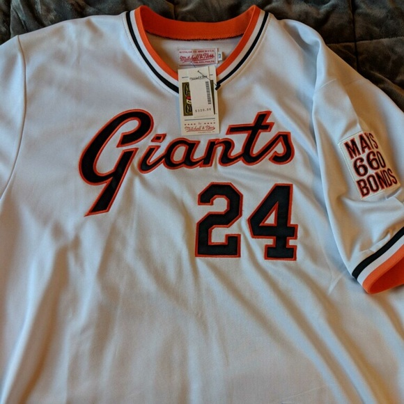 the latest f8d9f 7cf38 NWT Collectible SF Giants Willie Mays Jersey!